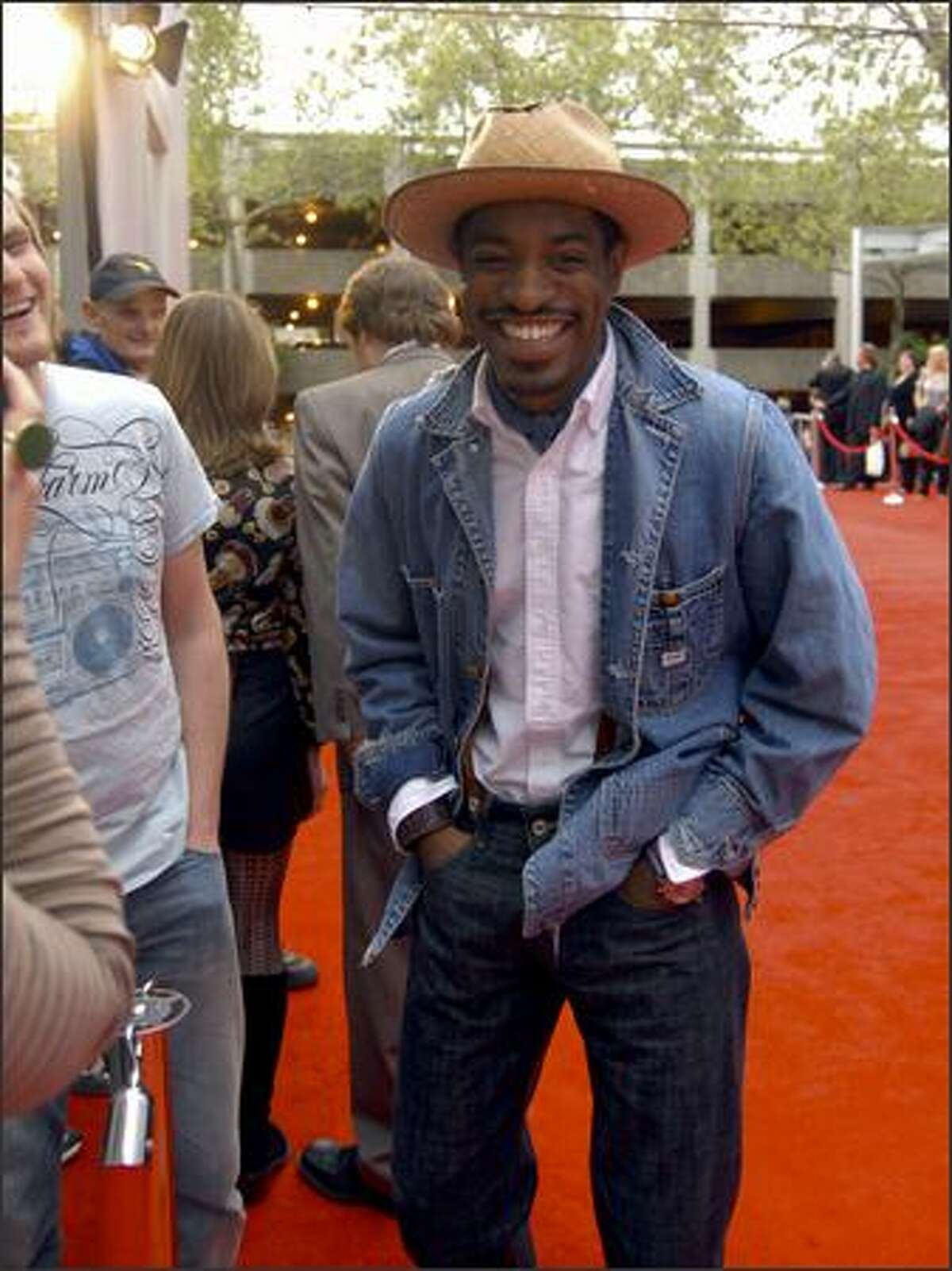 Actor André Benjamin, who plays Django in