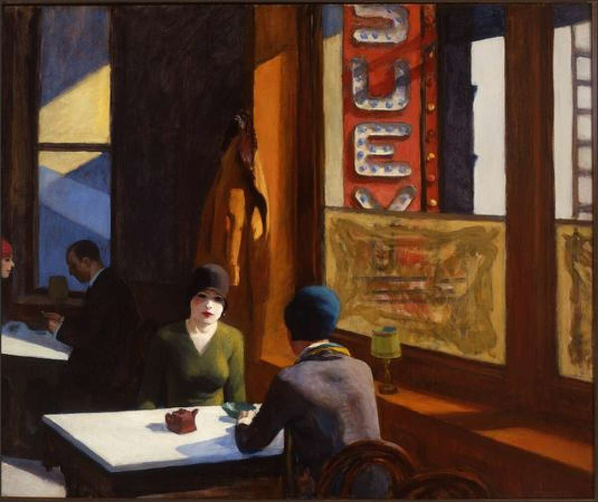 """""""Chop Suey"""" from 1929 is, first of all, architectural. The dirty windowpanes next to the two flappers predate color field abstractions."""