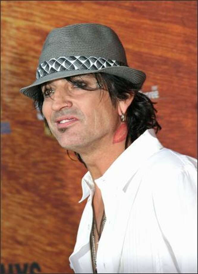 Musician Tommy Lee arrives. Photo: Getty Images
