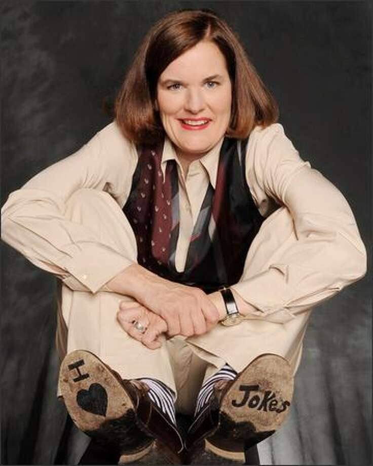 Comedian Paula Poundstone loves – what else? – jokes. She's an author, too. Photo: Michael Schwartz/WireImage