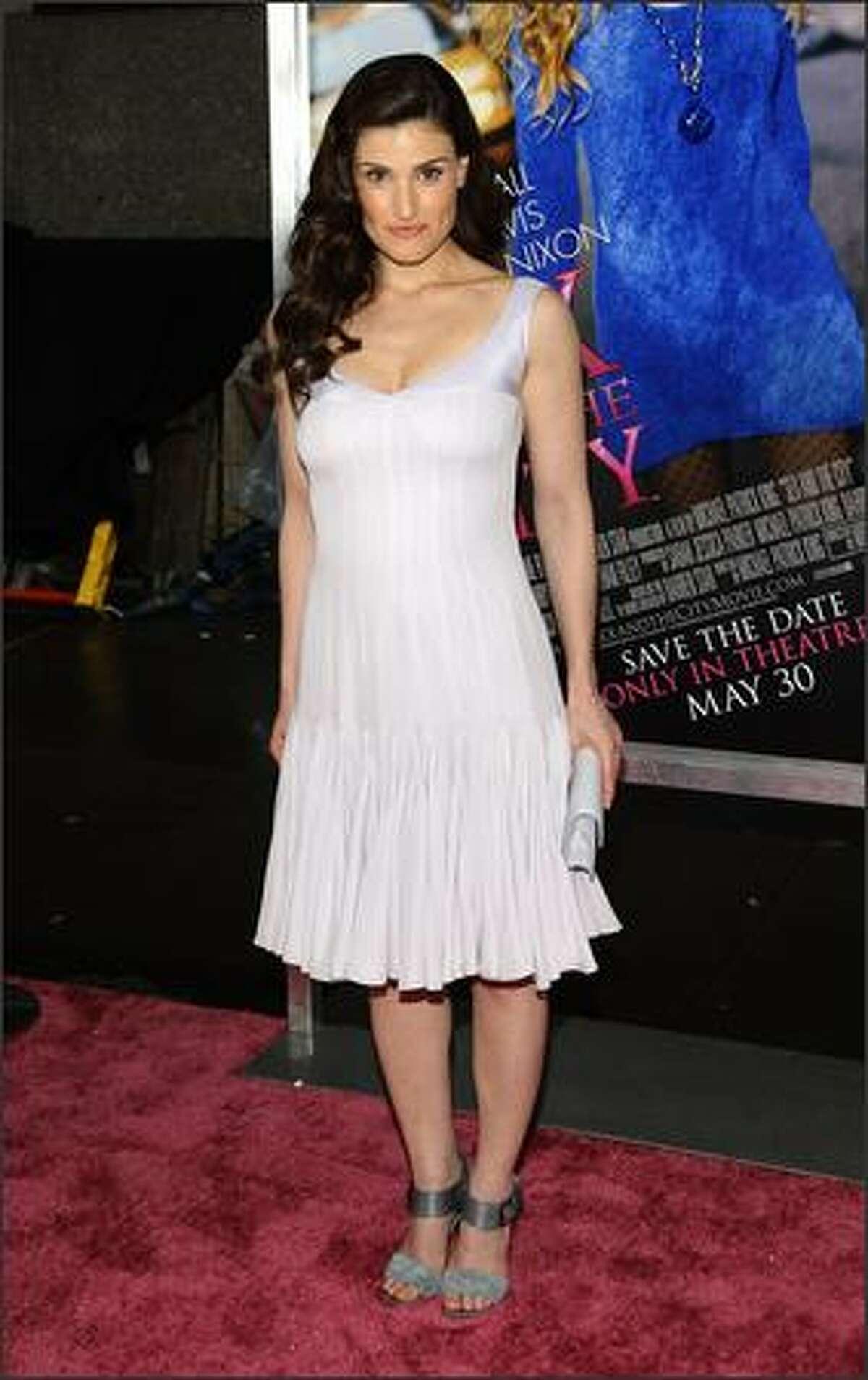 Actress Idina Menzel.
