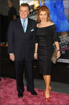 TV personality Regis Philbin and Joy Philbin. Photo: Getty Images