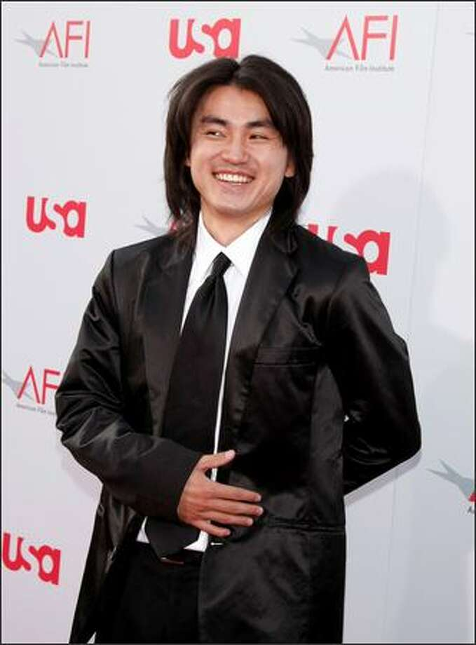 Actor Shin Koyamada arrives at the Kodak Theatre. Photo: Getty Images