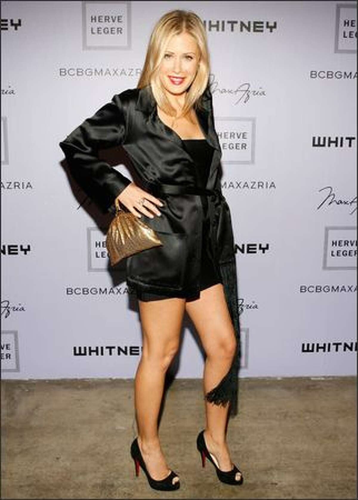 Designer Tara Subkoff attends the Whitney Contemporaries Art Party on Tuesday at Skylight in New York.