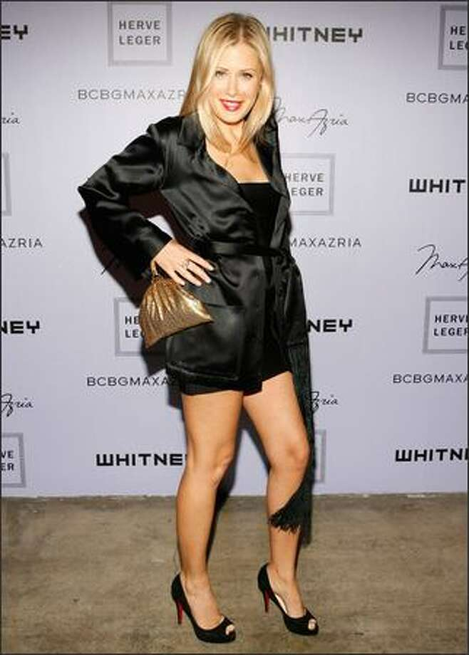 Designer Tara Subkoff attends the Whitney Contemporaries Art Party on Tuesday at Skylight in New York. Photo: Getty Images