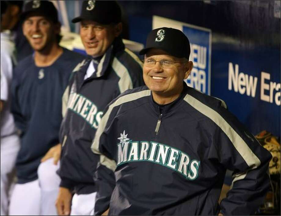 Seattle Mariners manager John McLaren. Photo: Mike Urban, Seattle Post-Intelligencer