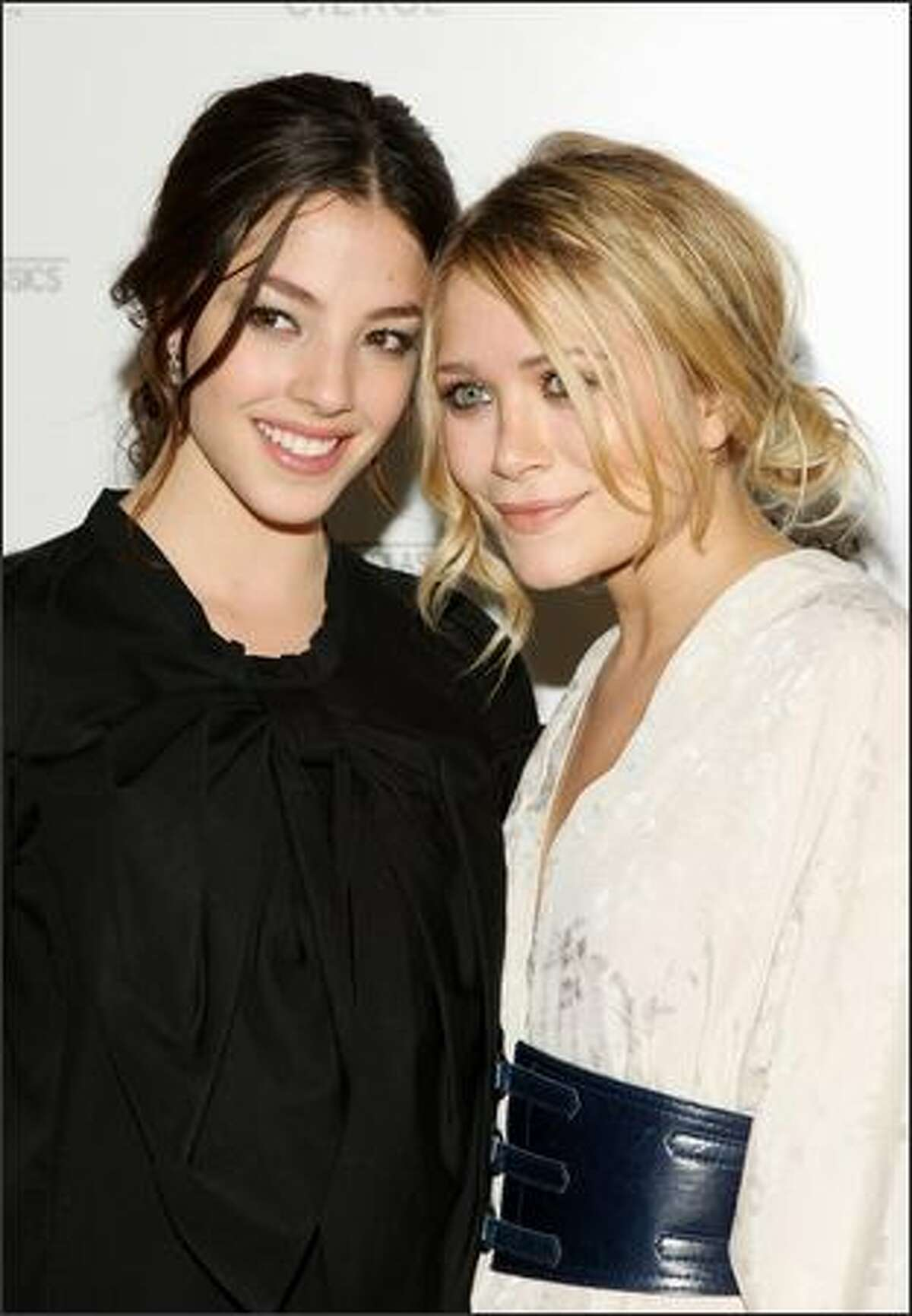 Actors Olivia Thirlby and Mary-Kate Olsen attend a screening of