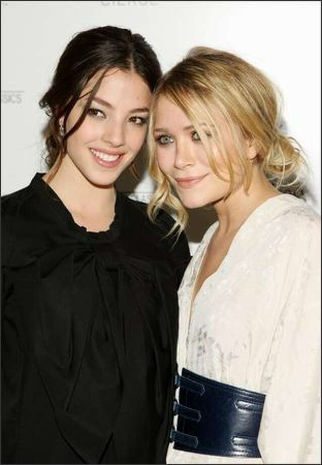 "Actors Olivia Thirlby and Mary-Kate Olsen attend a screening of ""The Wackness"" hosted by The Cinema Society and Sony Cierge at the AMC Loews 19th Street East in New York. Photo: Getty Images"