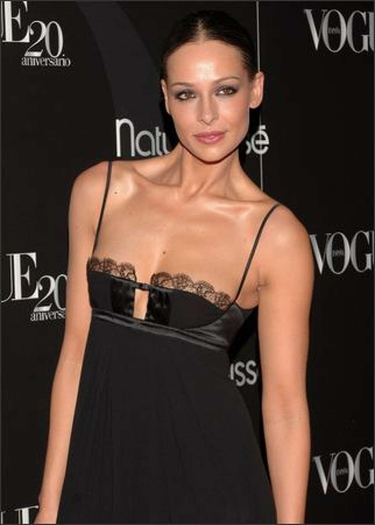 Spanish model Eva Gonzalez.