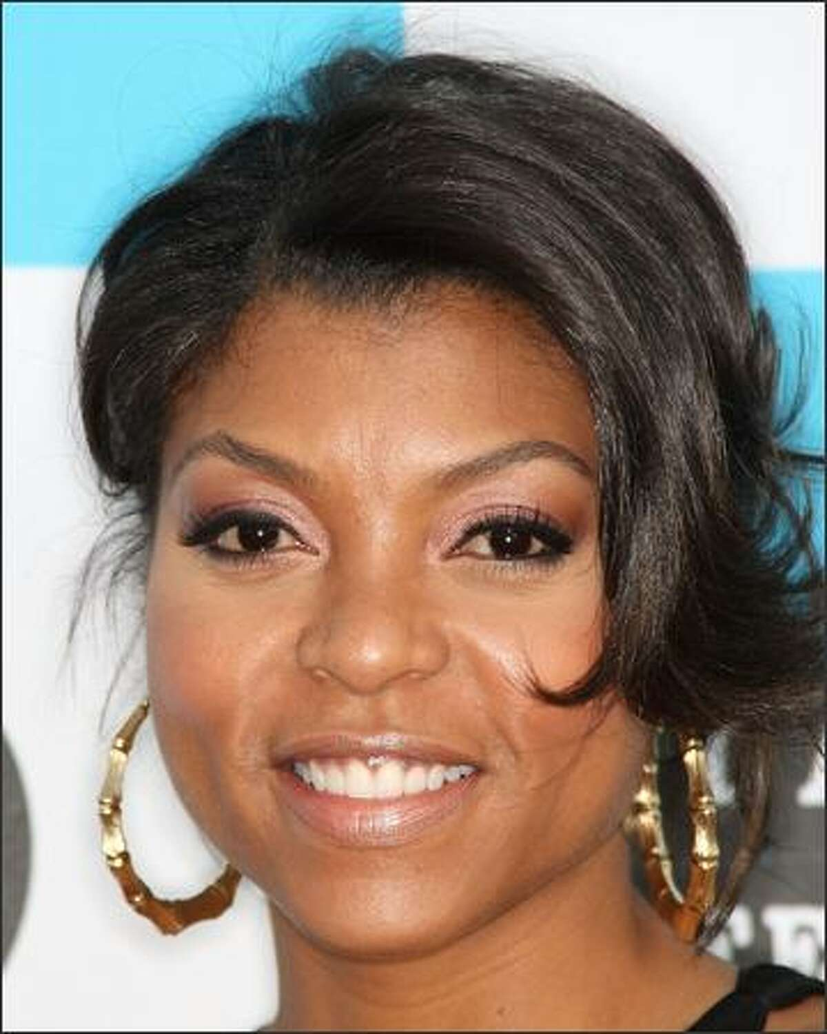 Actress Taraji Henson attends the 2008 Los Angeles Film Festival Awards Ceremony