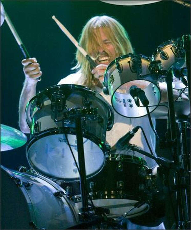 Drummer Taylor Hawkings.