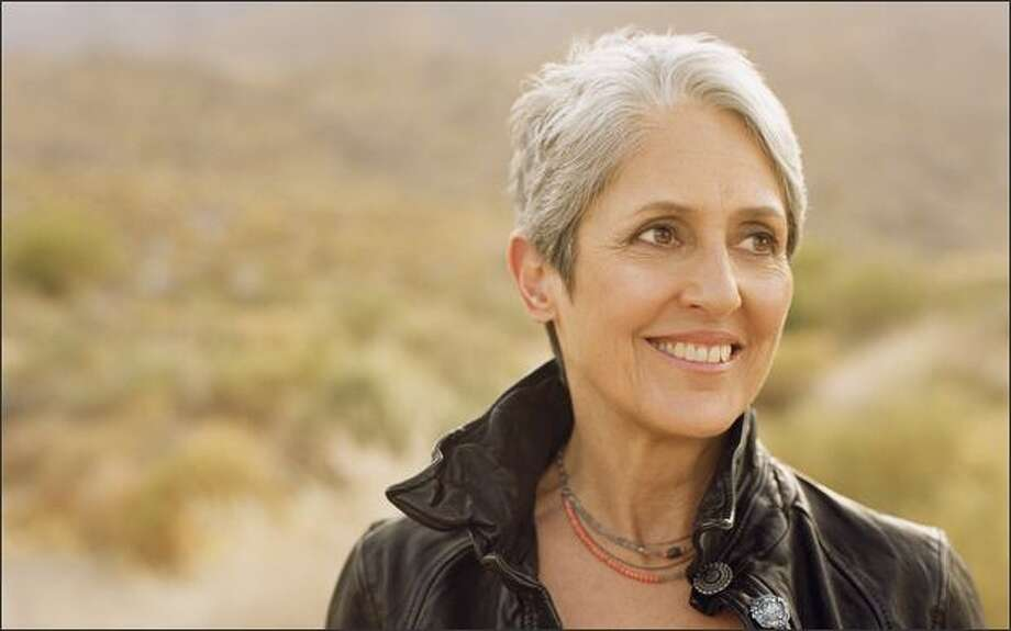 Joan Baez has been a professional singer for 50 years – she performed her first show when she was 17. Photo: Dana Tynan