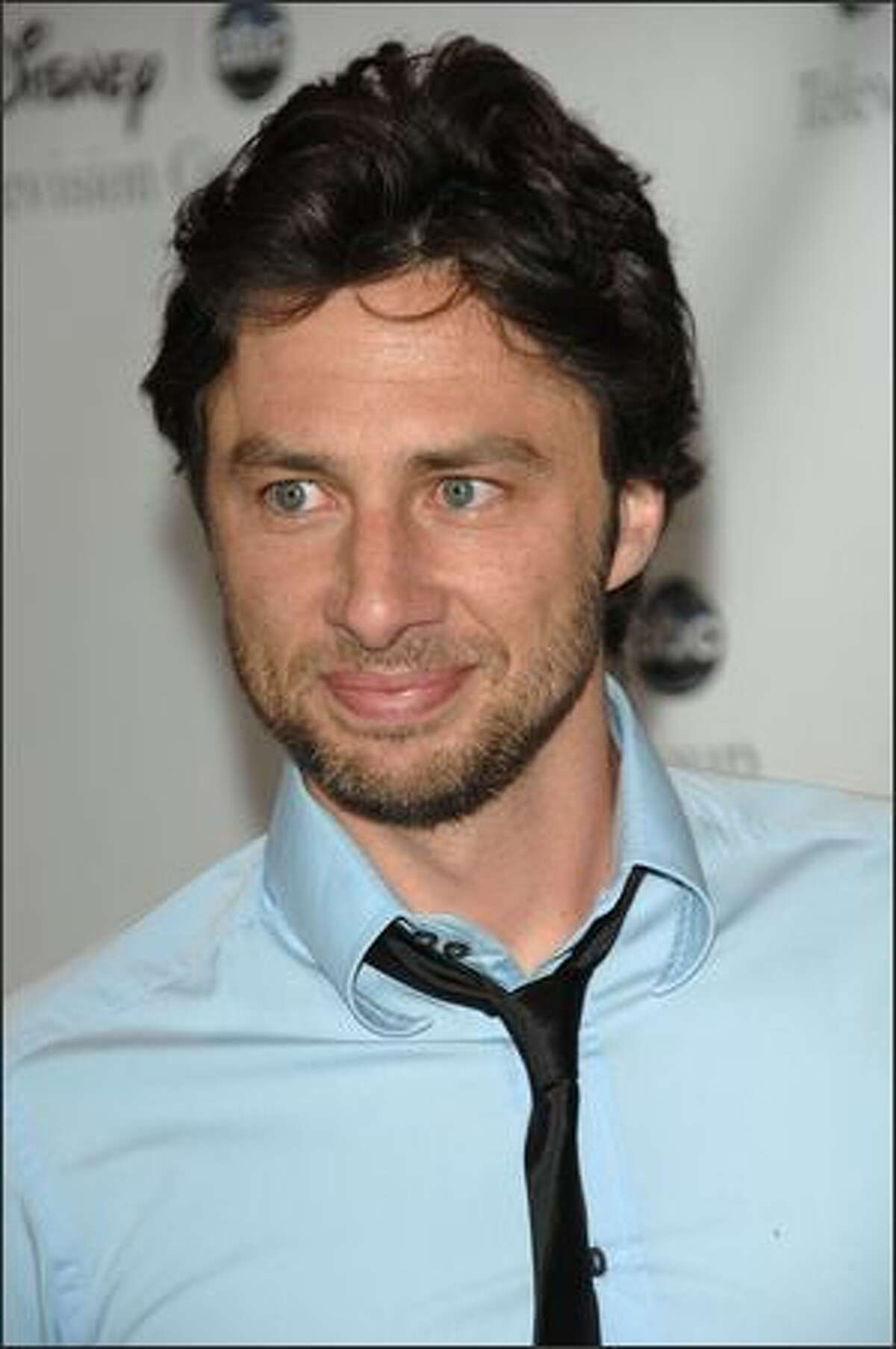 Actor Zach Braff attends Disney and ABC's