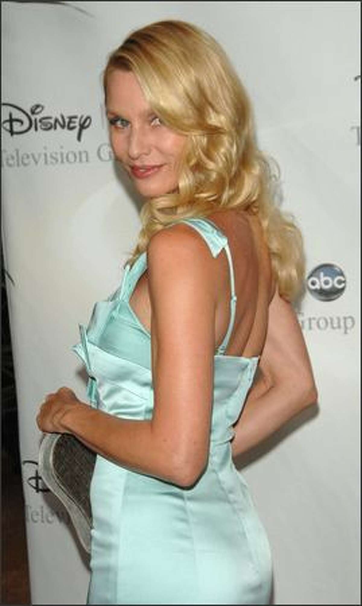 Actress Nicollette Sheridan attends Disney and ABC's