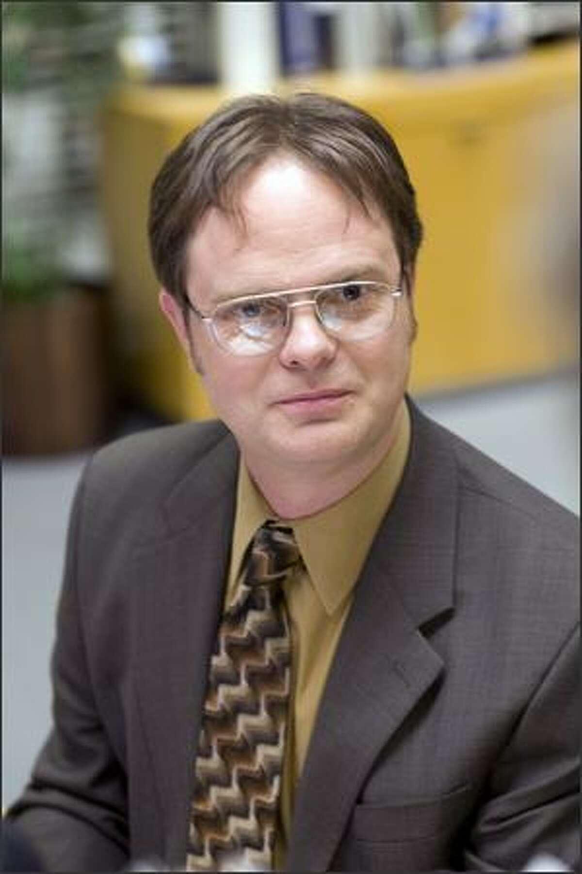 Rainn Wilson as Dwight Schrute in