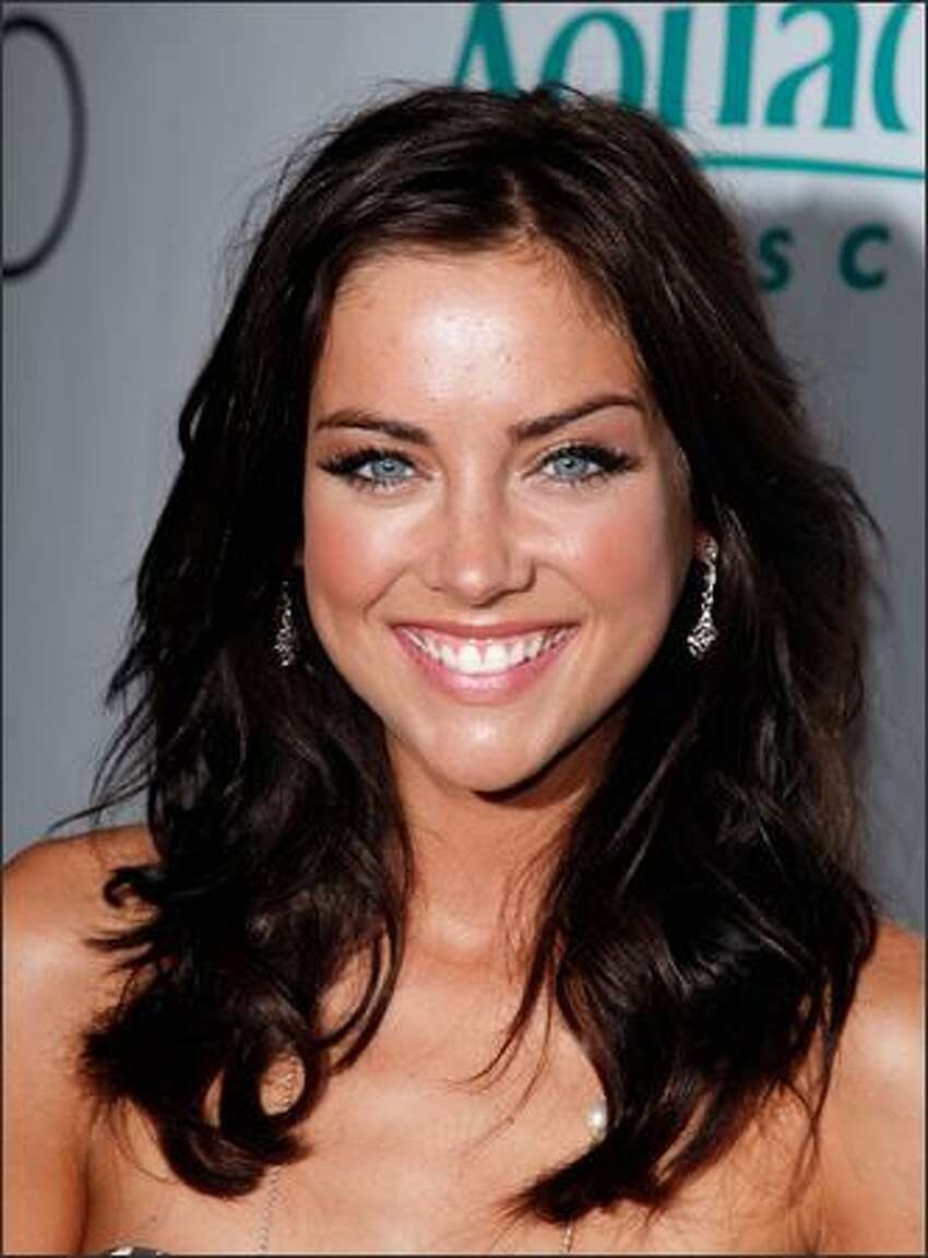 Actress Jessica Stroup arrives at the premiere party for the CW Network's
