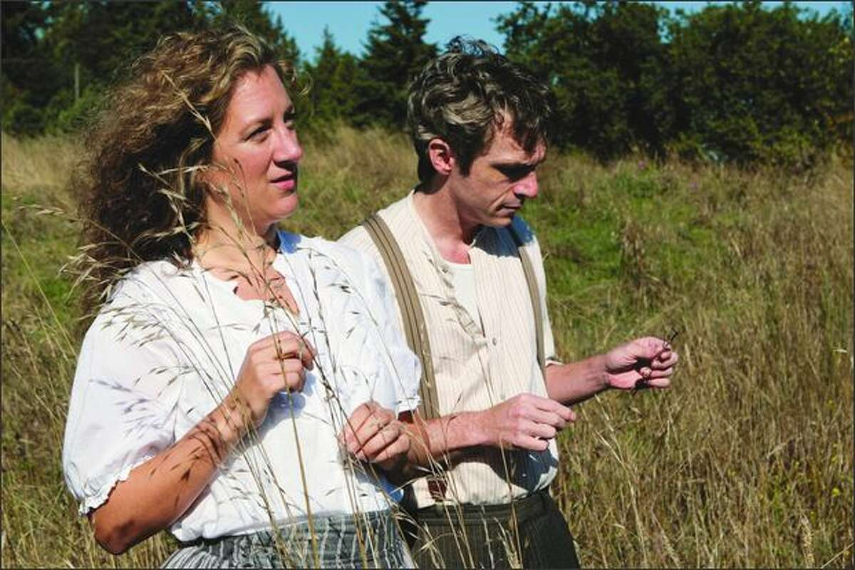 Growing up on a ranch in Colorado, Annie Lareau (as Antonia Shimerda with George Mount who is narrator Jim Burden) cherished Willa Cather's Great Plains novel