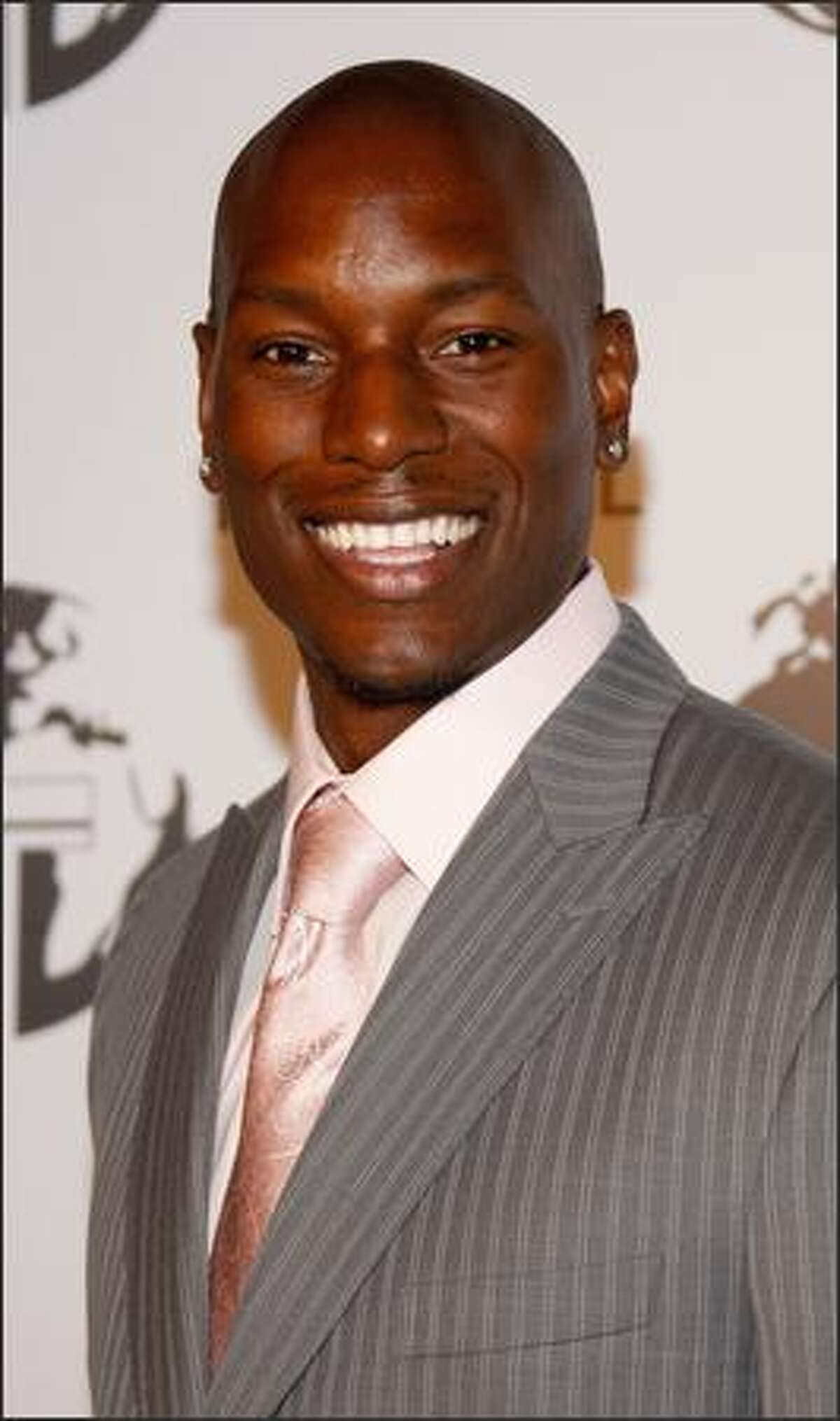 ActorTyrese arrives at the Nakheel Introduces Trump International Hotel and Tower Dubai party featuring a performance by Christina Aguilera on Saturday at The Tar Estate, Bel Air, Calif.