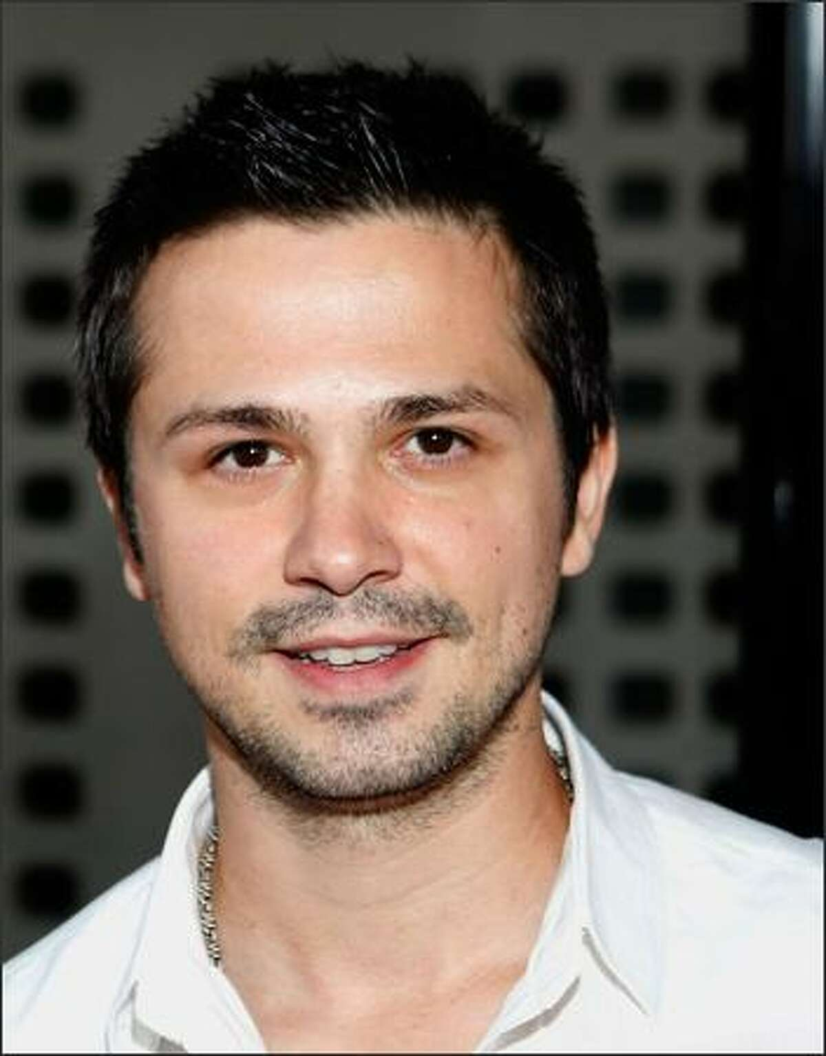 """Actor Freddy Rodriguez arrives at the Los Angeles premiere of HBO's series """"True Blood"""" at the Cinerama Dome on Thursday in Hollywood, Calif."""