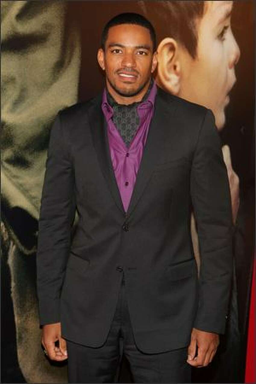 Actor Laz Alonso attends the premiere of