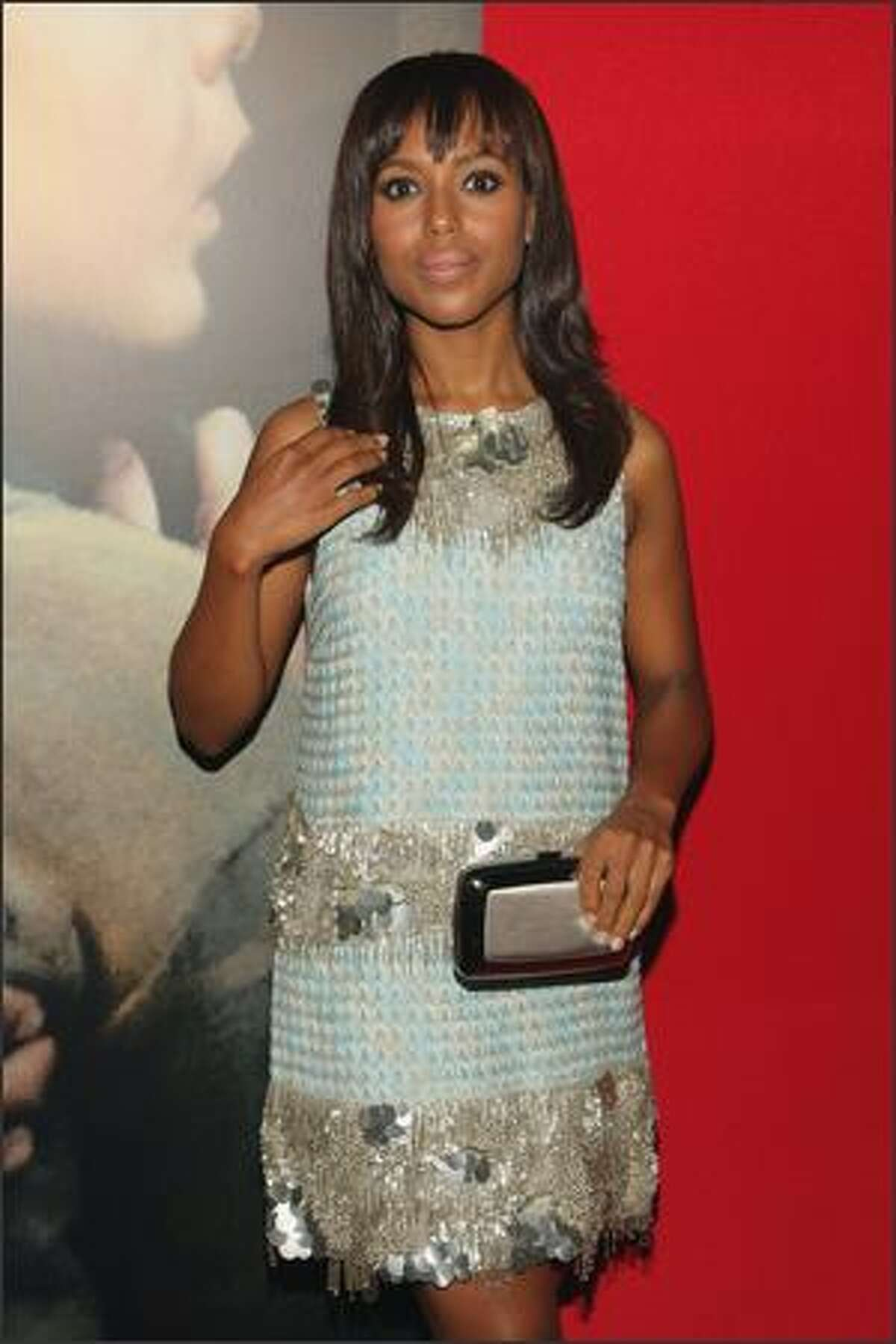 Actress Kerry Washington attends the premiere of
