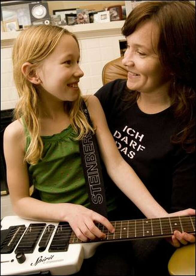 Girls Rock! with chords that bind - seattlepi.com