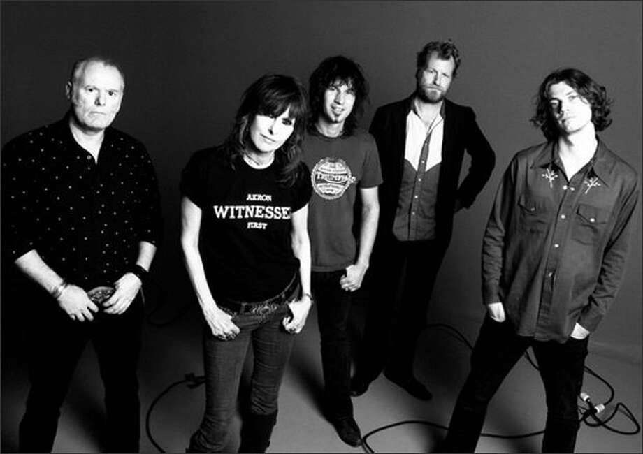 The Pretenders are hosting a benefit concert at MASS MoCA this summer. Photo: /