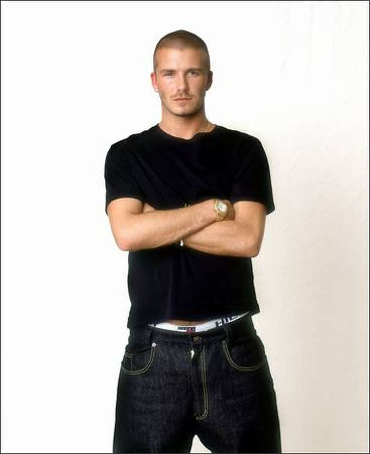 David Beckham, circa 2000. Photo: Getty Images