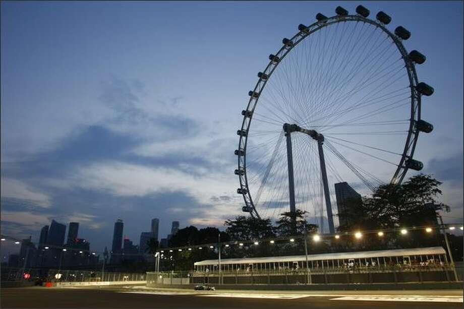 Marina Bay Circuit, Singapore. Photo: Singapore Grand Prix