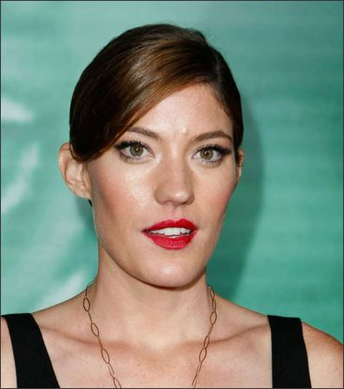"""Actress Jennifer Carpenter arrives at the premiere of Screen Gems' """"Quarantine"""" at Knott's Scary Farm on Thursday in Buena Park, Calif."""