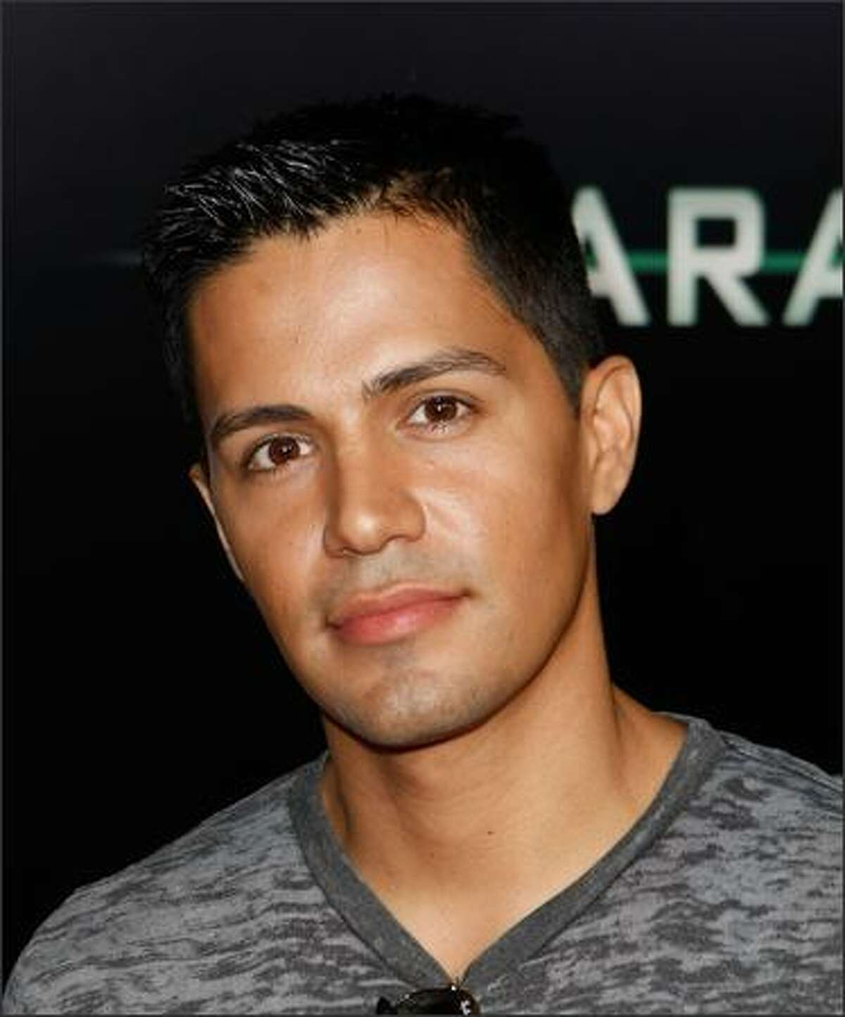Actor Jay Hernandez arrives at the premiere of Screen Gems'
