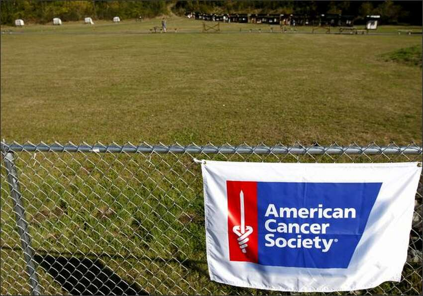 The Skookum Archers American Cancer Society Shoot took place on Saturday in Puyallup.