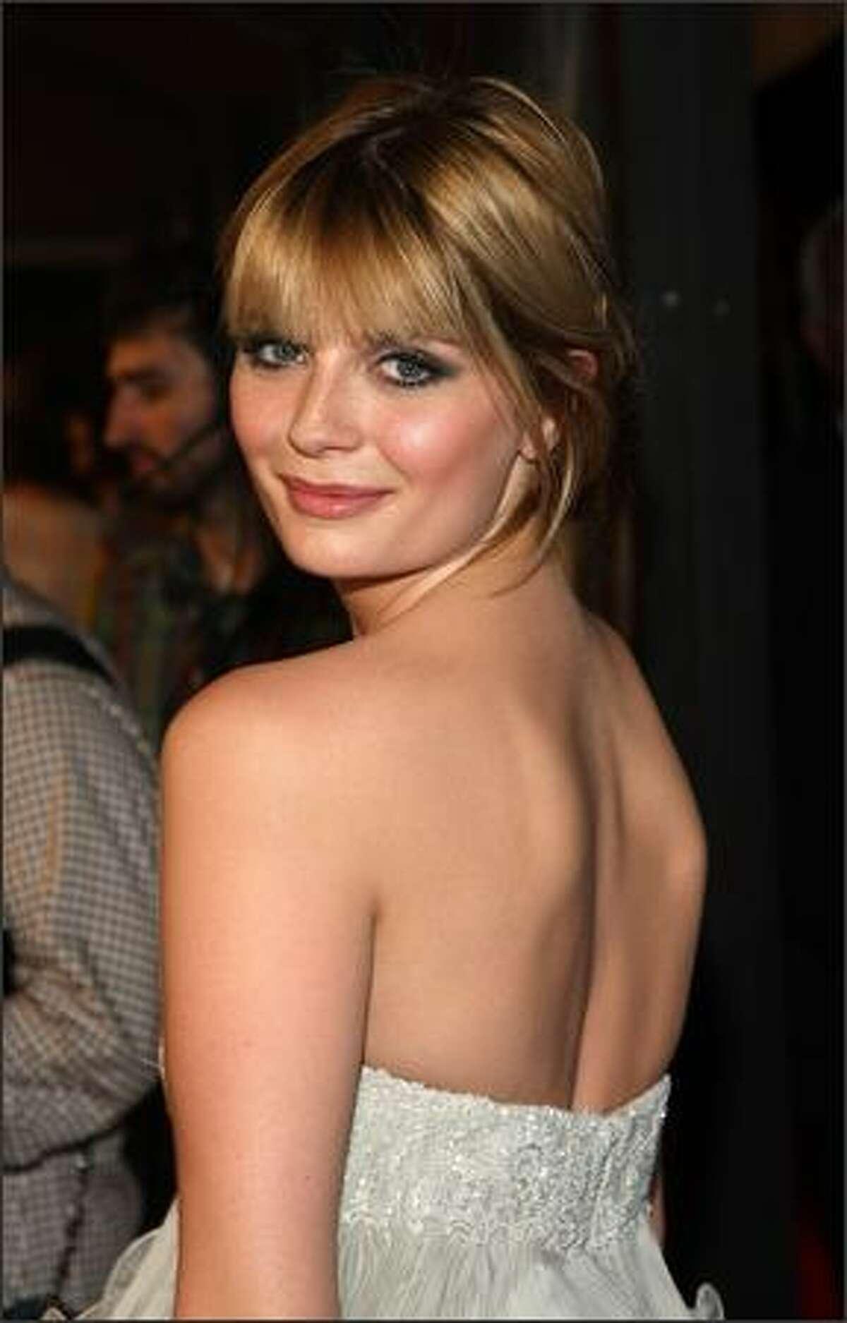 Actress Mischa Barton.