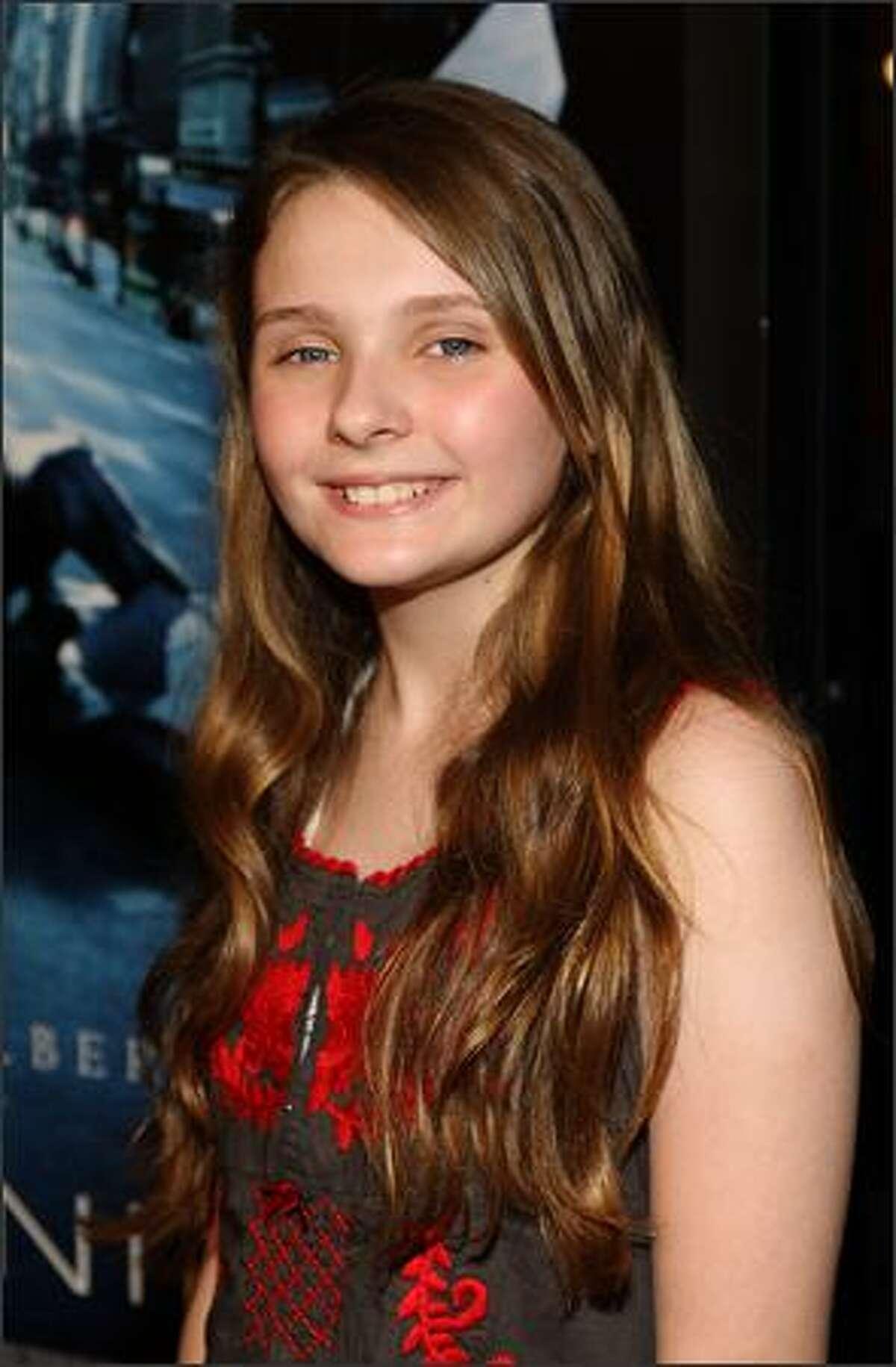 Actress Abigail Breslin.