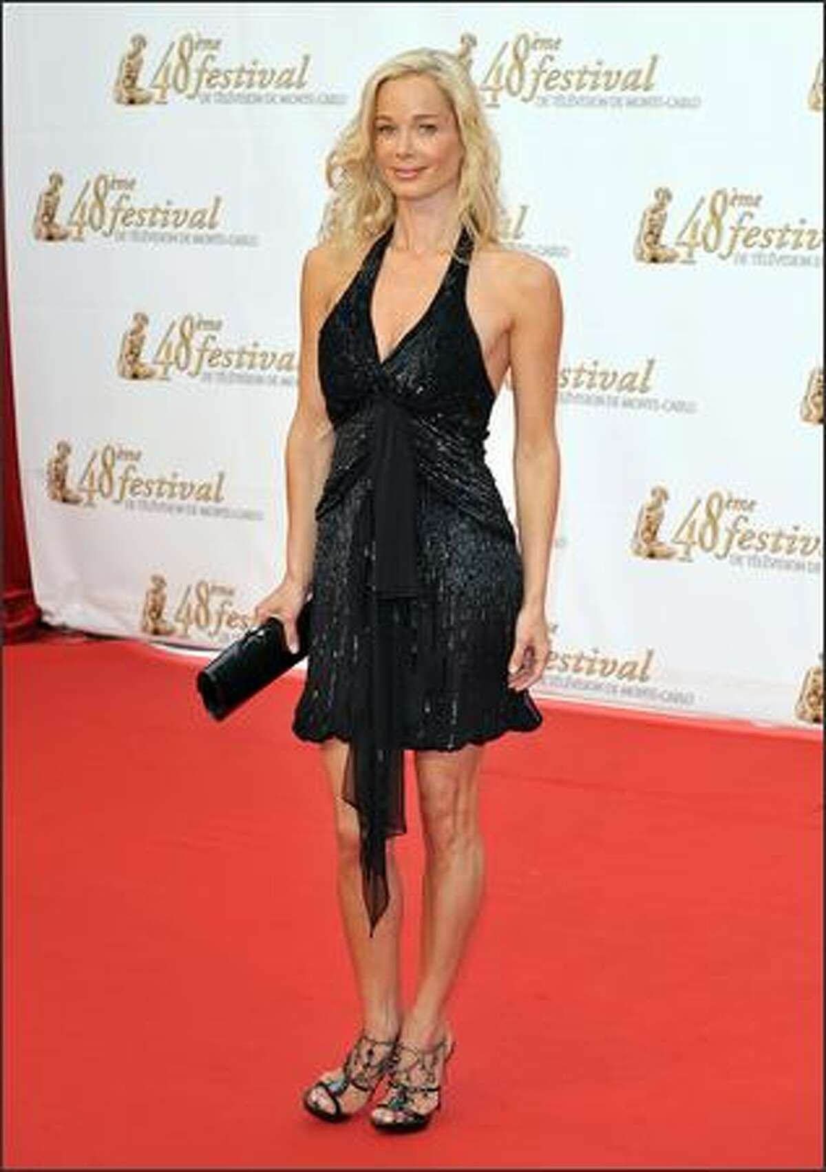 Actress Jennifer Gareis attends the opening night.