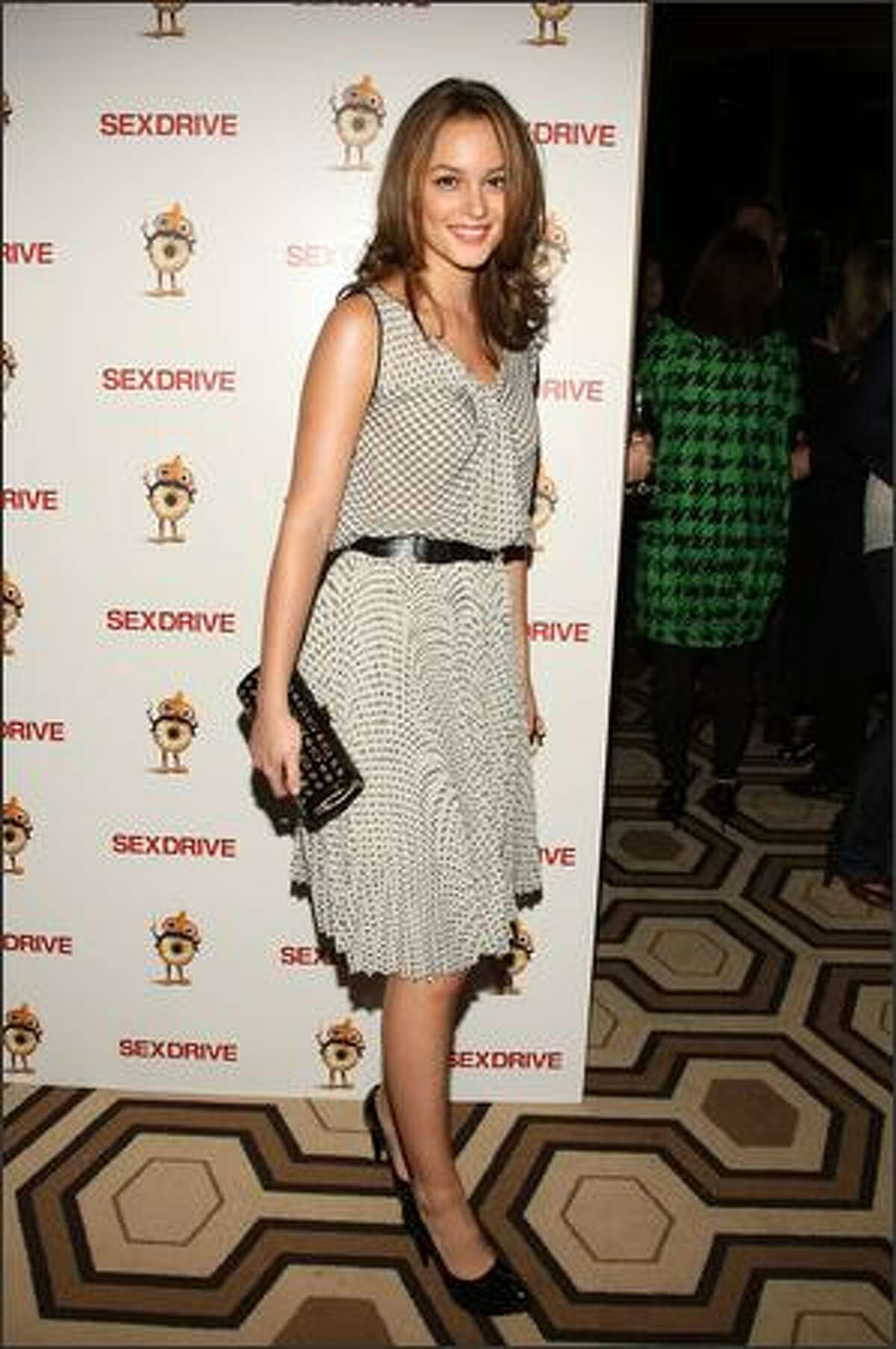 Actress Leighton Meester attends a special screening of