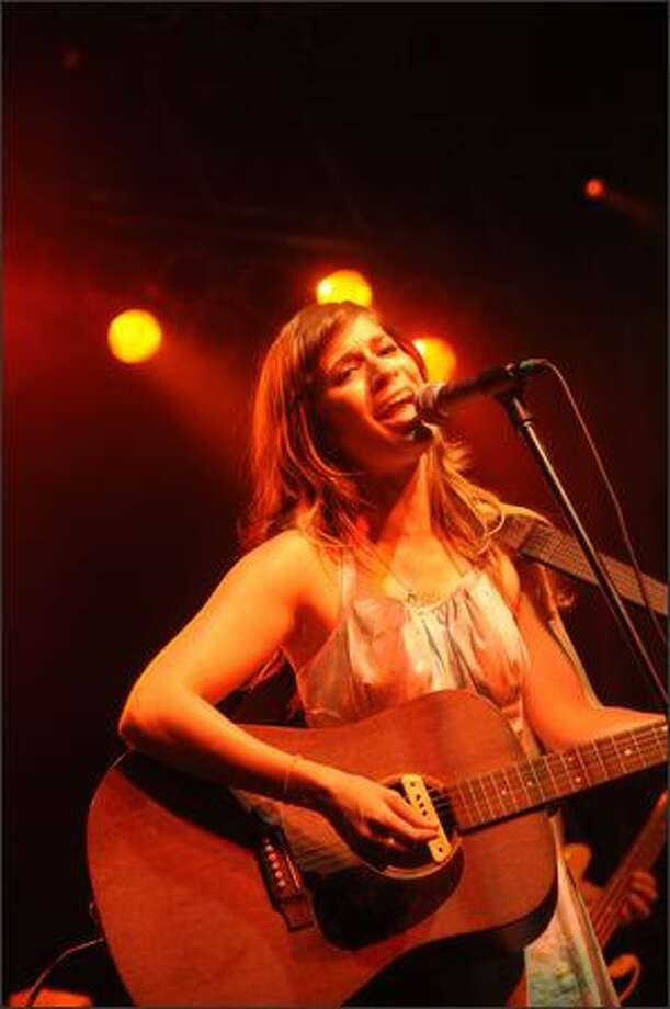 Nicole Atkins performs. Photo: Getty Images