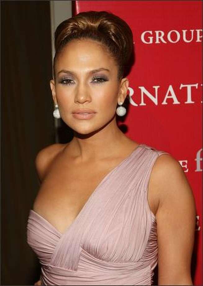 Singer/actress Jennifer Lopez arrives. Photo: Getty Images