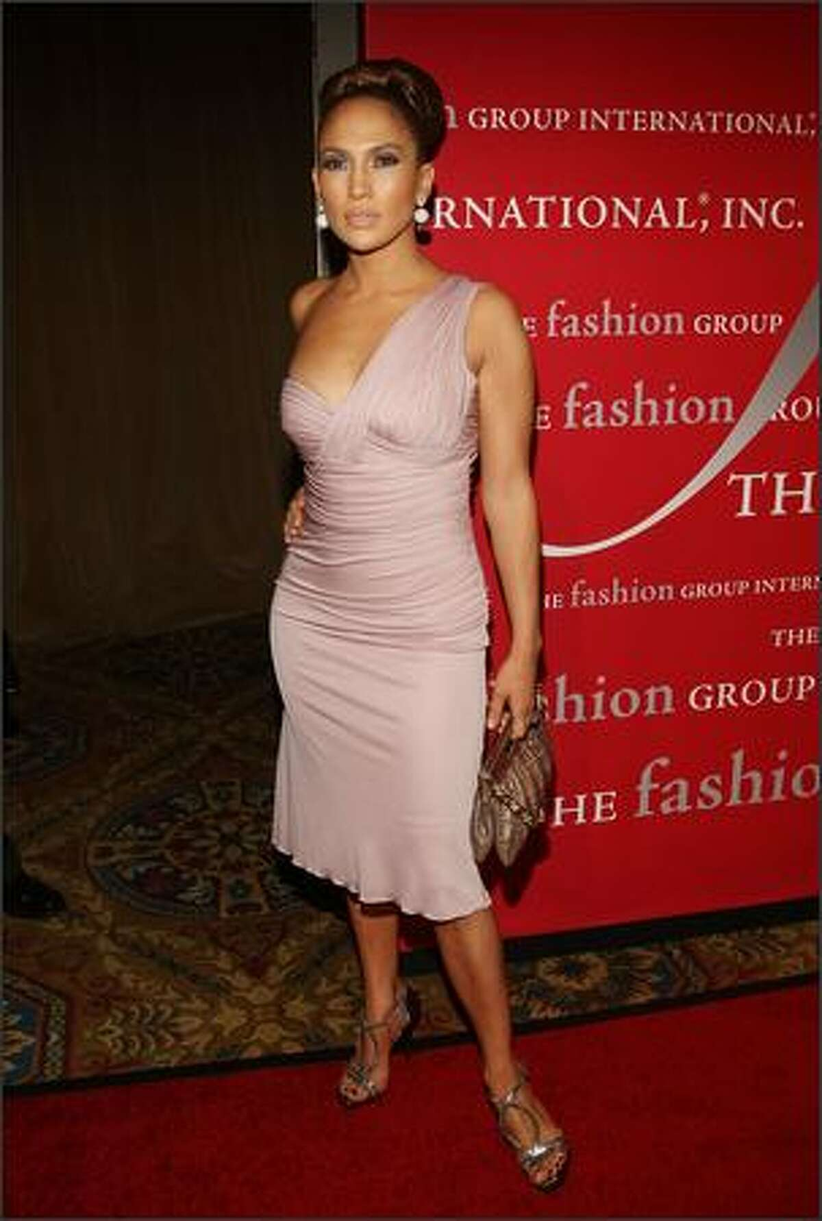 Singer/actress Jennifer Lopez attends the 25th annual Night of Stars hosted by Fashion Group International at Cipriani Wall Street in New York on Thursday.
