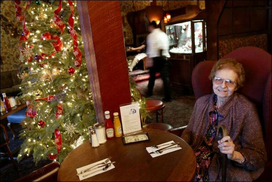 Juanita Wilson was a daily regular at Charlie's on Broadway. Photo: Joshua Trujillo/Seattle Post-intelligencer File