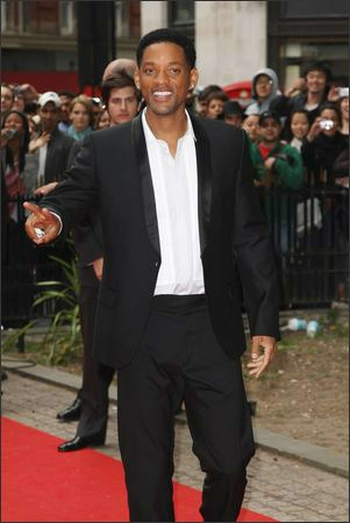 Actor Will Smith arrives at the