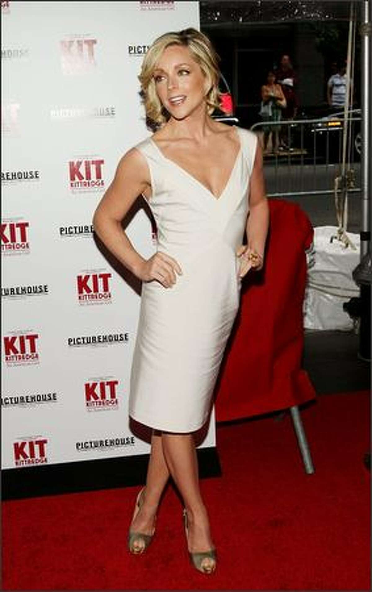 Actress Jane Krakowski attends the premiere of