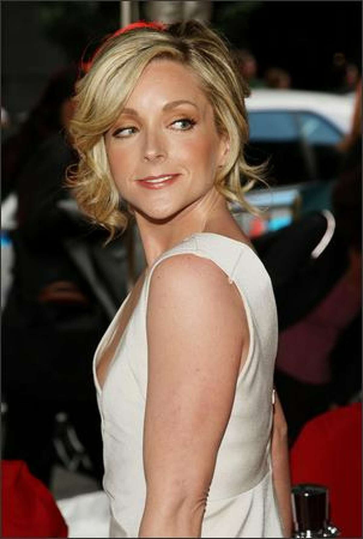 Actress Jane Krakowski attends the premiere.