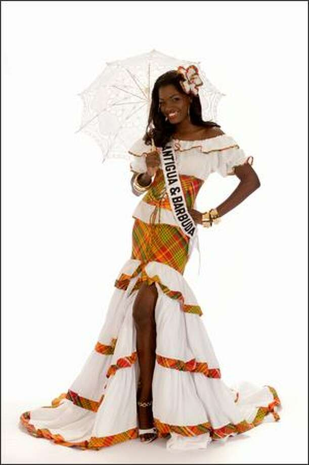 Athina James, Miss Antigua & Barbuda 2008. Photo: Miss Universe L.P., LLLP