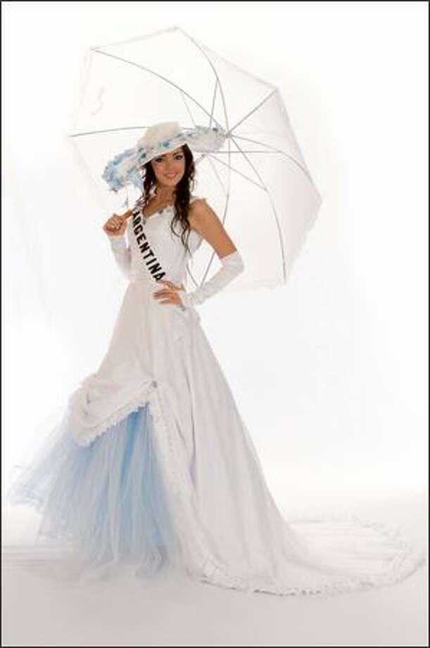 Maria Silvana Belli, Miss Argentina 2008. Photo: Miss Universe L.P., LLLP