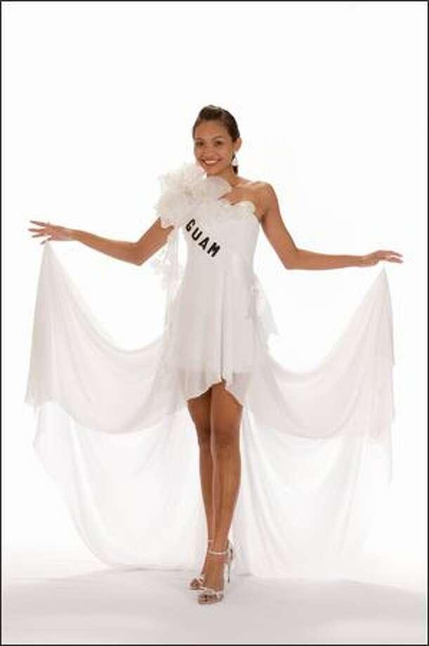 Siera Robertson, Miss Guam 2008. Photo: Miss Universe L.P., LLLP