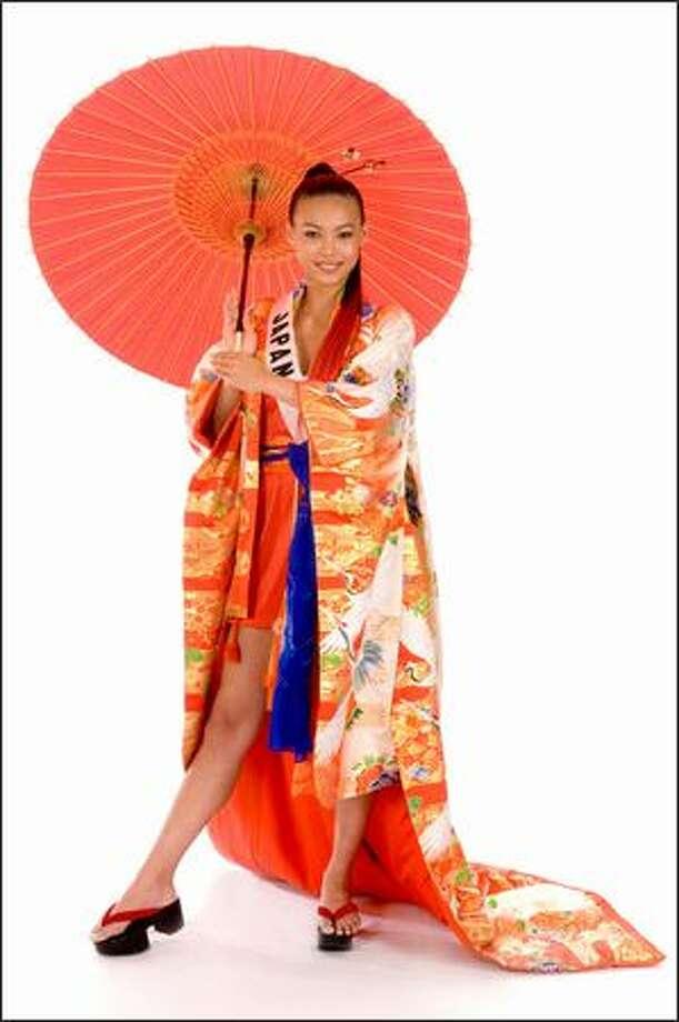 Mima Hiroko, Miss Japan 2008. Photo: Miss Universe L.P., LLLP
