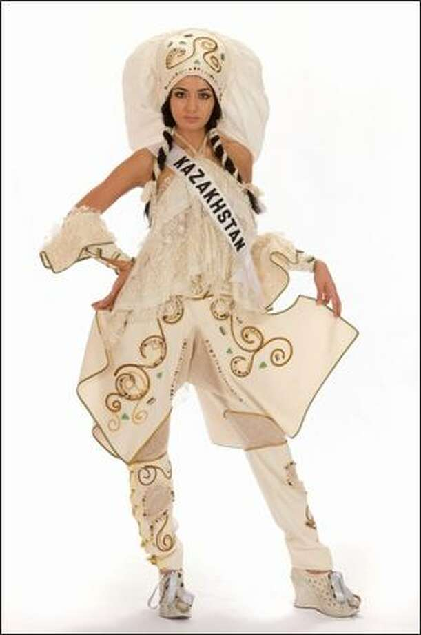 Alfina Nassyrova, Miss Kazakhstan 2008. Photo: Miss Universe L.P., LLLP