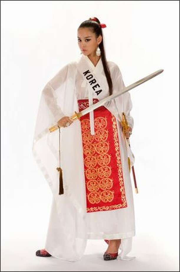 Sun Lee, Miss Korea 2008. Photo: Miss Universe L.P., LLLP
