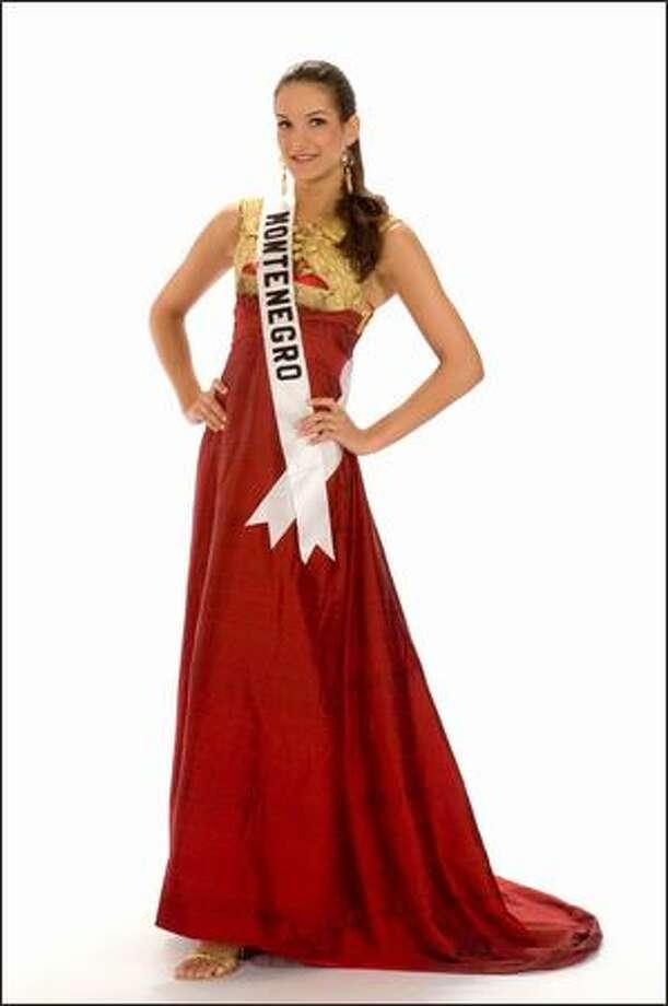 Dasa Zivkovic, Miss Montenegro 2008. Photo: Miss Universe L.P., LLLP